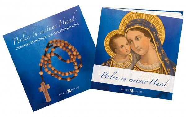 Geschenkset - Rosenkranz & Perlen in meiner Hand