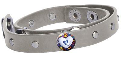 Graues Armband - 3 Chunks