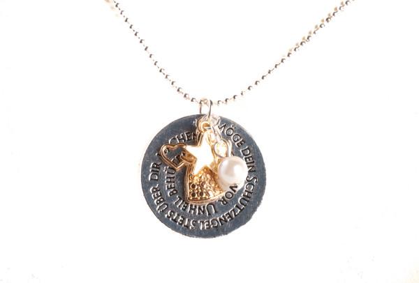 Halskette - Dein Schutzengel & Stern