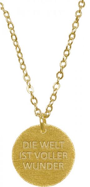 Halskette - Die Welt ist voller Wunder