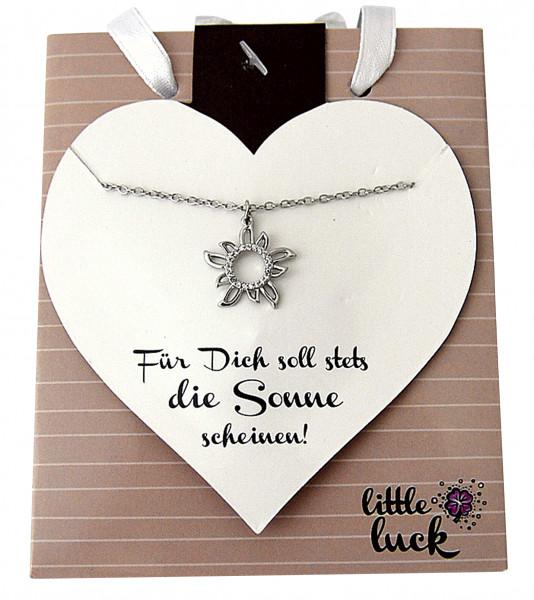 Halskette - Für Dich & Sonne