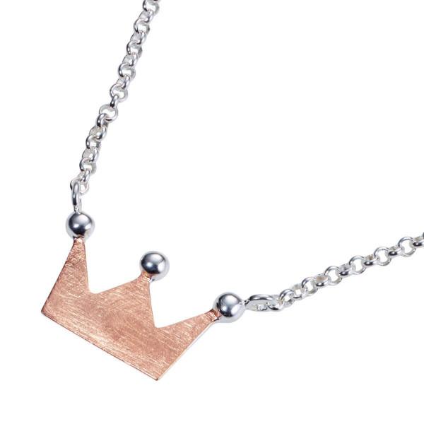 Halskette - Königskind & Roségold