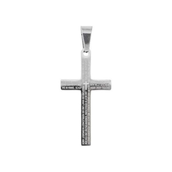 Halskette - Kreuz & Vater Unser