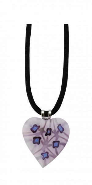 Halskette - Violettes Herz