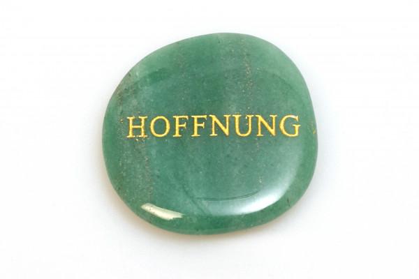 Handschmeichler - Hoffnung & Aventurin