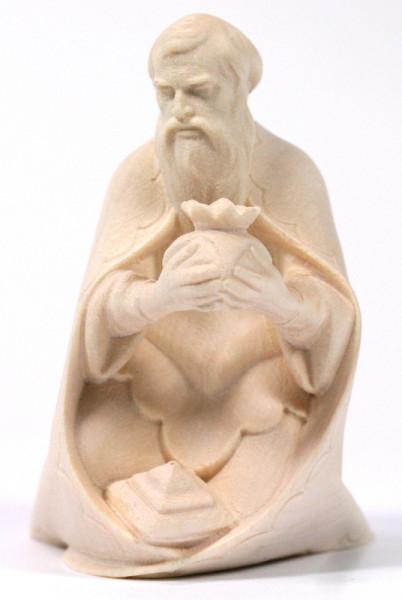 Heiland Krippe - König weiß kniend