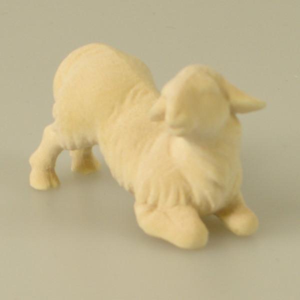 Heiland Krippe - Lamm kniend