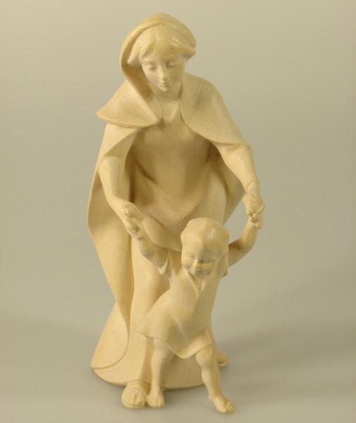 Heiland Krippe - Mutter mit Kind