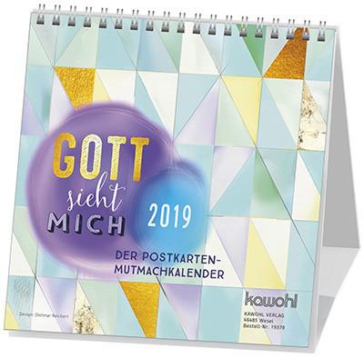 Kalender 2019 - Gott sieht mich