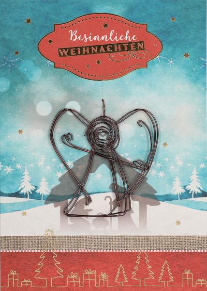 Karte zu Weihnachten - Besinnliche Weihnachten & ...