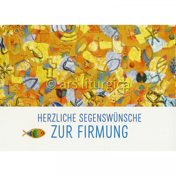 Karte zur Firmung - Segenswünsche und Christliche ...