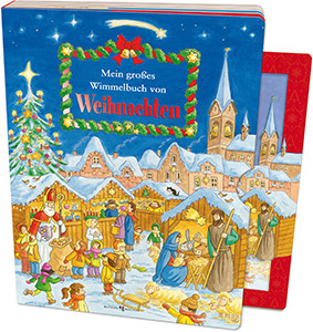 Kinderbuch - Mein großes Wimmelbuch von Weihnachten