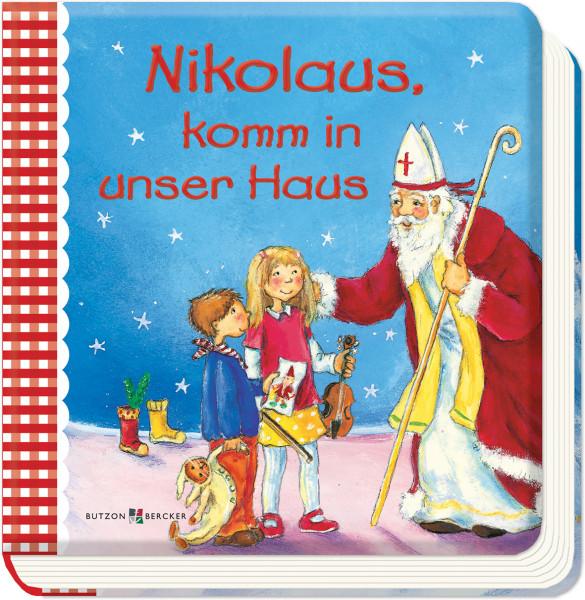 Kinderbuch Nikolaus komm in unser Haus