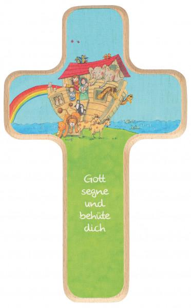 Kinderkreuz - Arche Noah & Gott segne und behüte dich