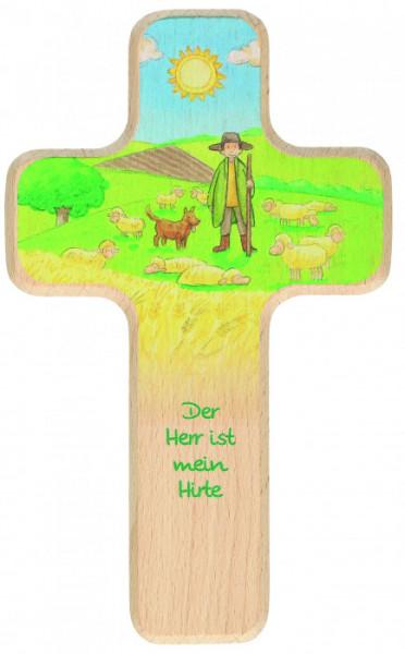 Kinderkreuz - Hirte & Schafe