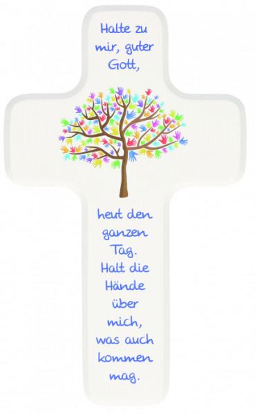 Kinderkreuz - Lebensbaum & Hände