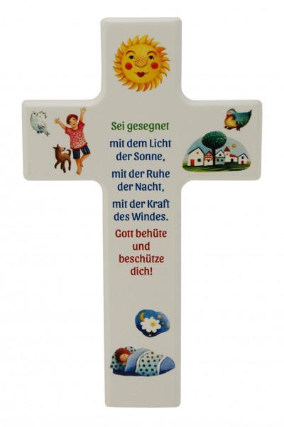 Kinderkreuz - Sei gesegnet mit dem Licht der Sonne