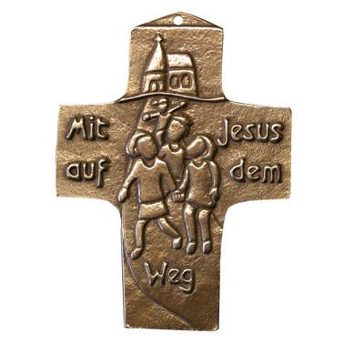 Kommunionkreuz - Mit Jesus auf dem Weg