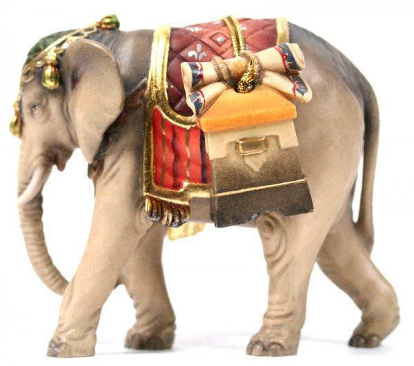 Kostner-Krippe - Elefant mit Gepäck