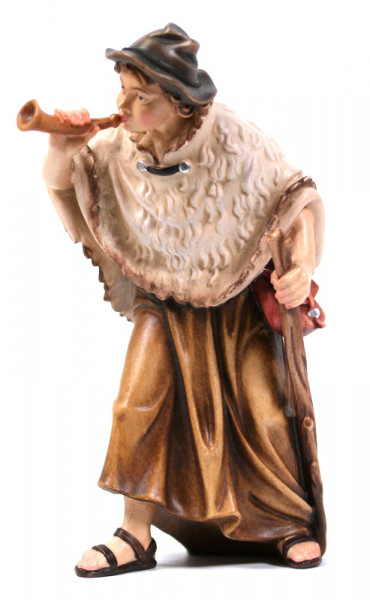 Kostner-Krippe - Hirt mit Horn
