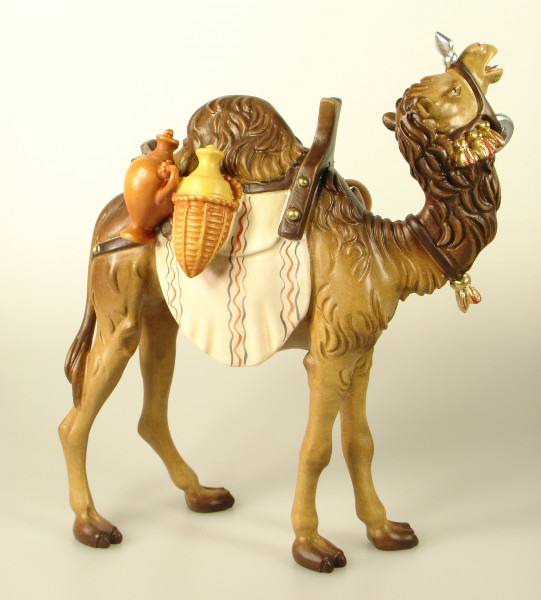 Kostner-Krippe - Kamel mit Gepäck