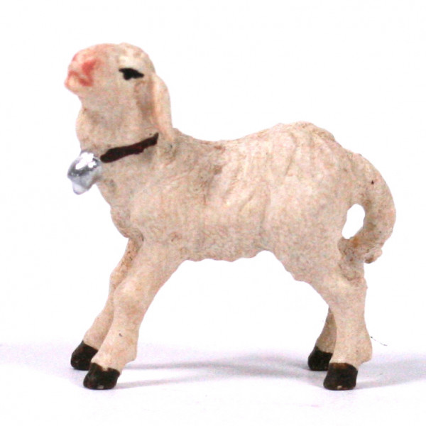Kostner-Krippe - Lamm stehend