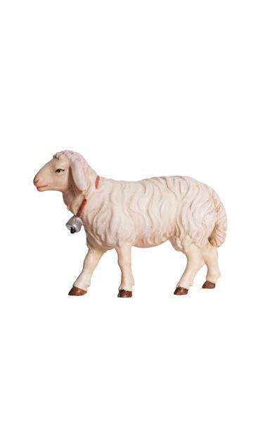 Kostner-Krippe - Schaf gehend mit Glocke