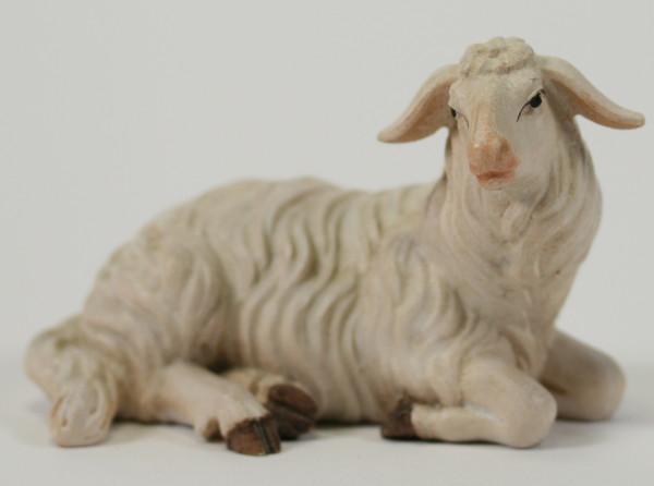 Kostner-Krippe - Schaf liegend rechtsschauend