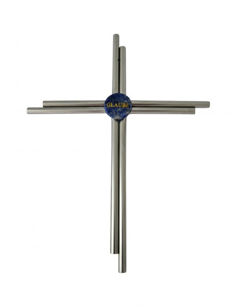 Kreuz - Edelstahl & Glaube