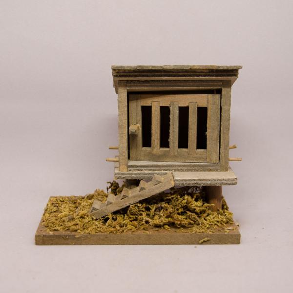 Krippenzubehör - Hühnerhaus
