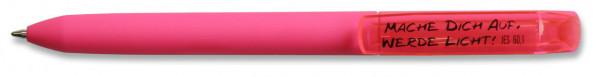 Kugelschreiber - Mache Dich auf, werde Licht