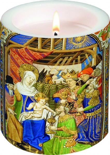 Lampionkerze - Geburt Christi & Anbetung der Könige