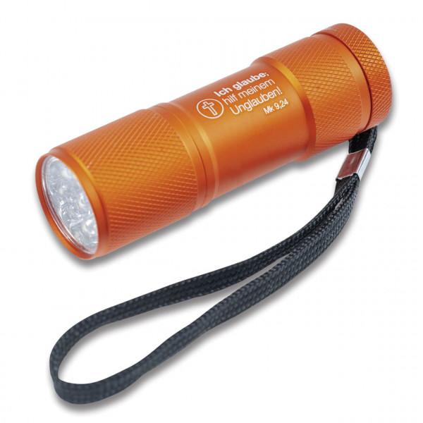 LED-Taschenlampe - Ich glaube; hilf meinem Unglauben