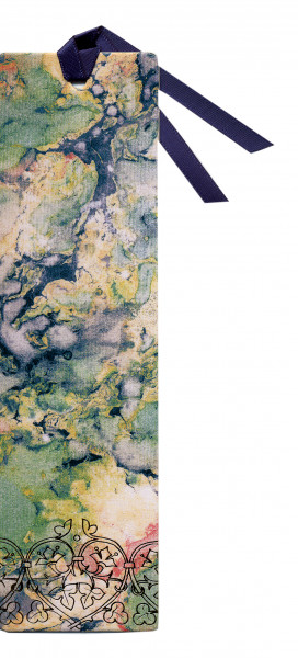 Lesezeichen - Kunstdruck & Blau-Grün