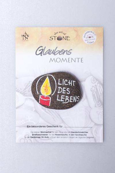 Naturstein-Handschmeichler - Licht des Lebens