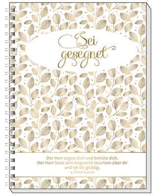 Notizbuch - Sei gesegnet & A5