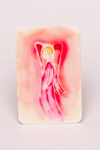 Prayercard - Denn mein Engel ist bei dir...