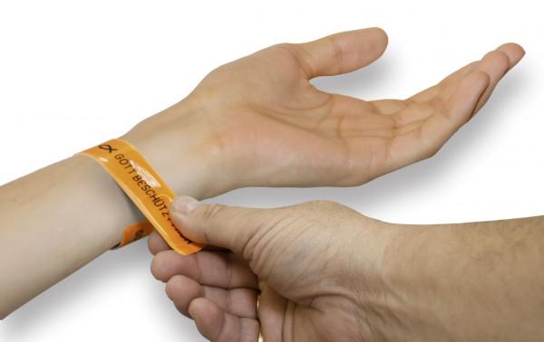 Reflex-Armband - Gott liebt mich