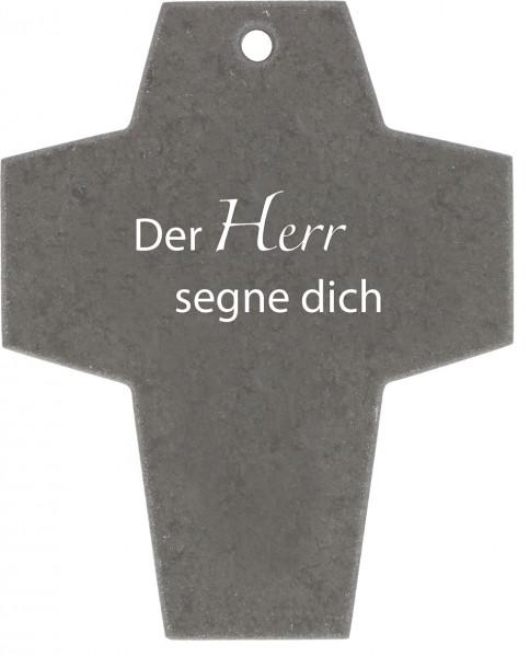 Schieferkreuz - Der Herr segne dich