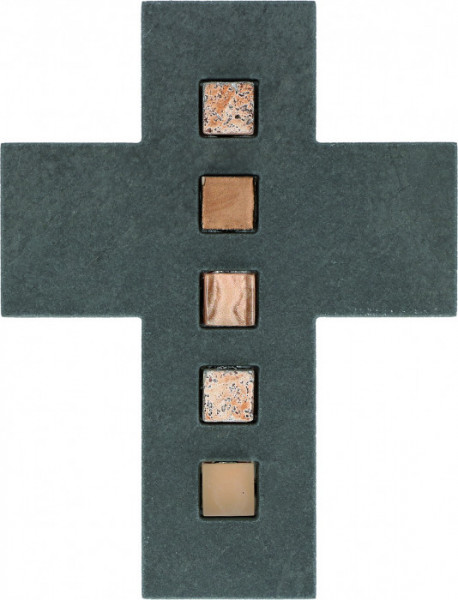 Schieferkreuz - Mosaiksteine