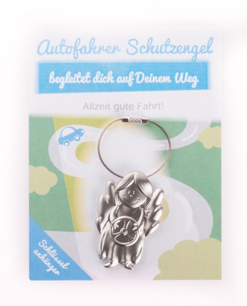 Schlüsselanhänger - Autofahrer Schutzengel