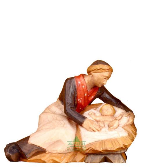 Stevìa-Krippe - Heilige Familie - 14 cm Serie und Coloriert