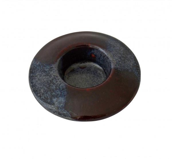 Teelichthalter Keramik & Rund