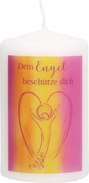 Tischkerze - Dein Engel beschütze dich