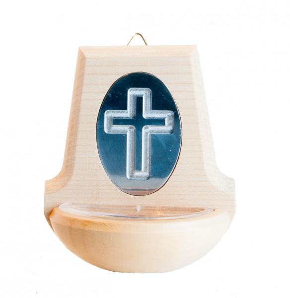 Weihkessel - Silberfarbenes Kreuz