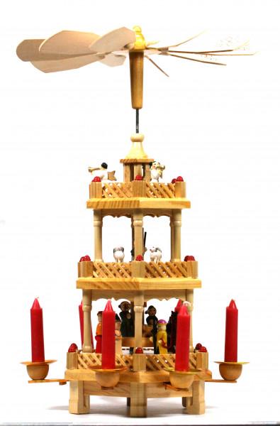 Weihnachtsdekoration - Pyramide & 38 cm