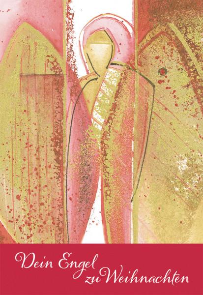 Weihnachtskarte - Dein Engel zu Weihnachten & Basteln